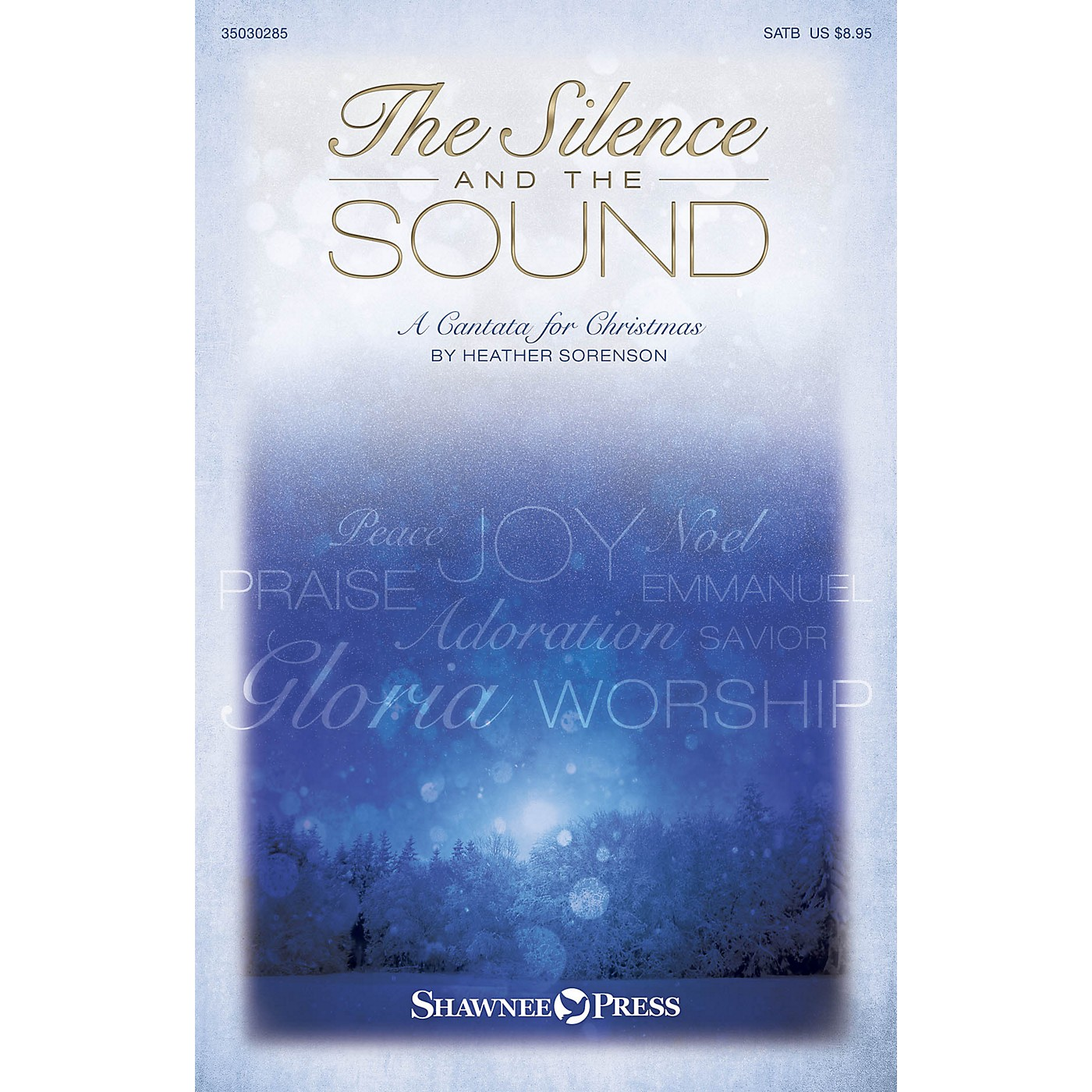 Shawnee Press The Silence and the Sound SPLIT TRAX Composed by Heather Sorenson thumbnail