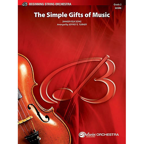 Alfred The Simple Gifts of Music String Orchestra Grade 2 Set-thumbnail