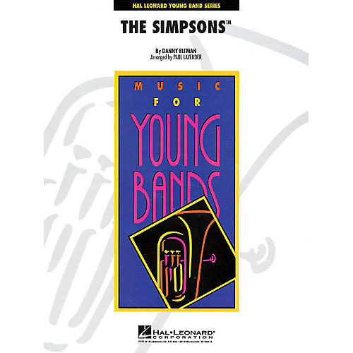 Hal Leonard The Simpsons - Young Concert Band Level 3 by Paul Lavender thumbnail
