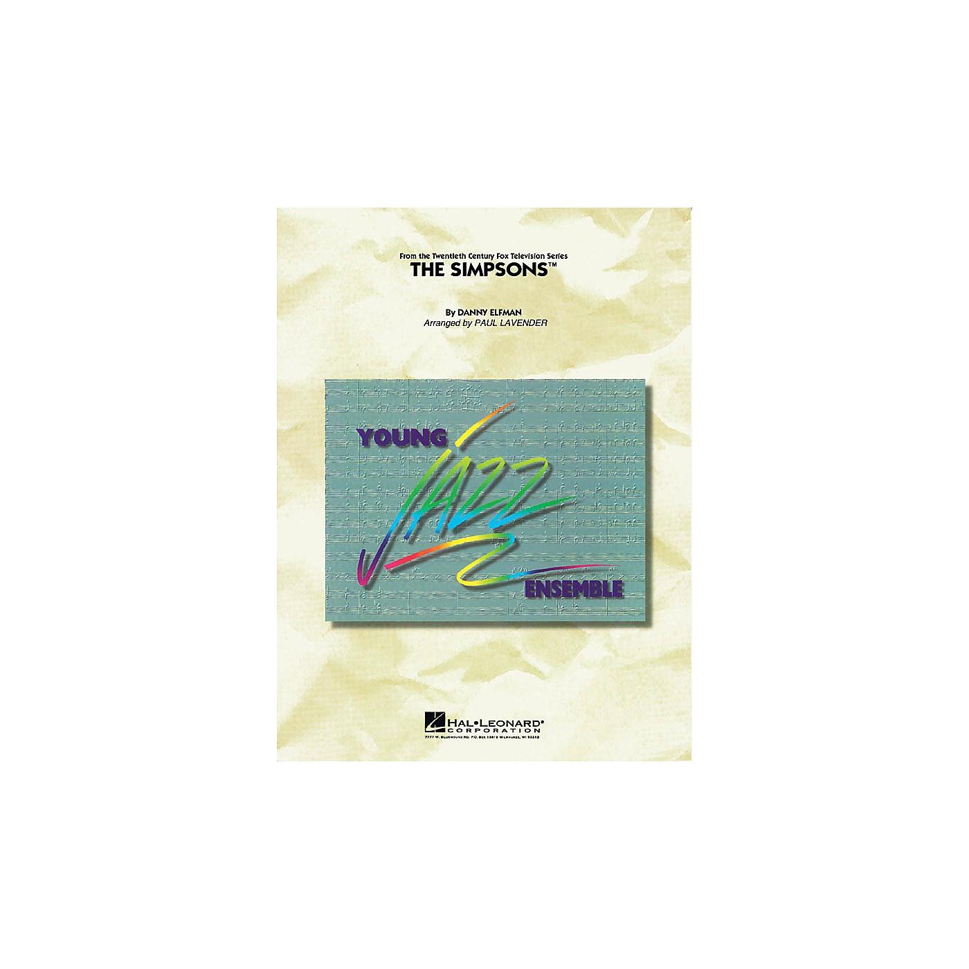 Hal Leonard The Simpsons Jazz Band Level 3 Arranged by Paul Lavender thumbnail
