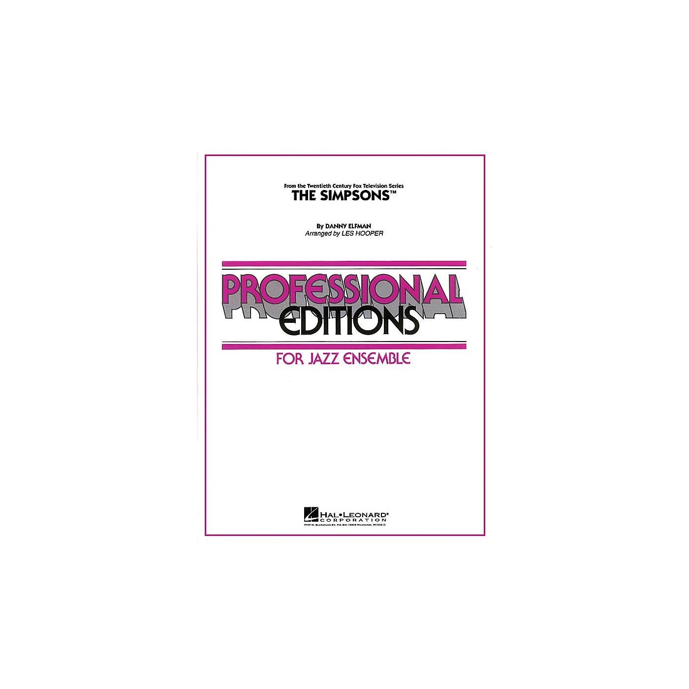 Hal Leonard The Simpsons Jazz Band Level 5 Arranged by Les Hooper thumbnail