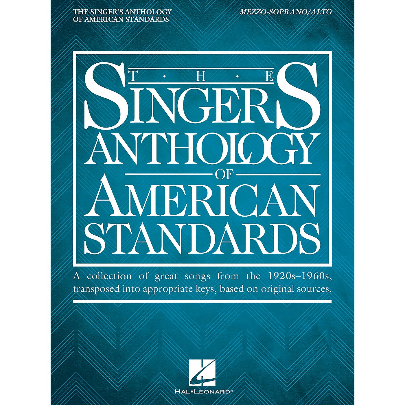 Hal Leonard The Singer's Anthology of American Standards Mezzo-Soprano/Alto Edition Vocal Songbook thumbnail