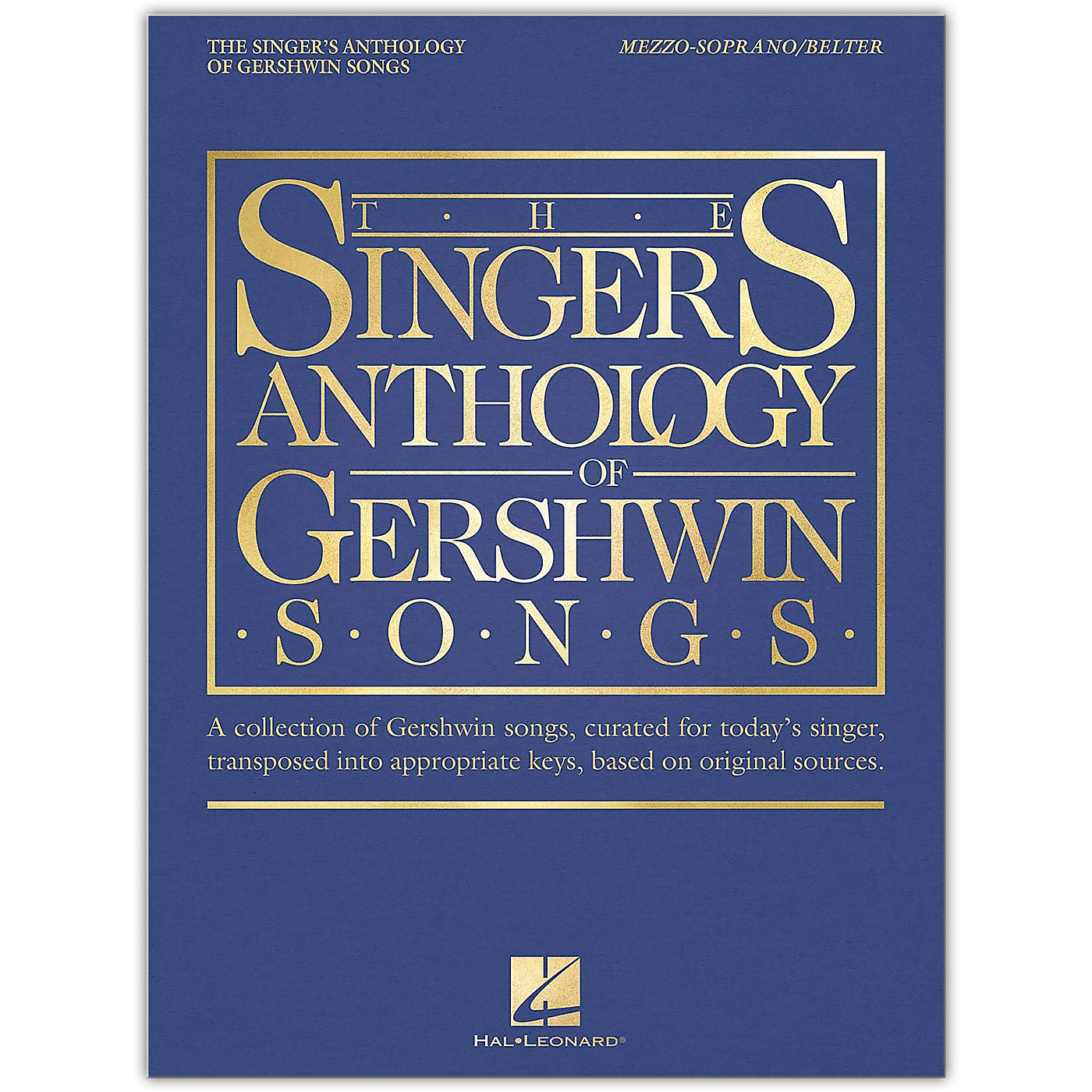 Hal Leonard The Singer's Anthology of Gershwin Songs - Mezzo-Soprano/Belter Vocal Collection thumbnail