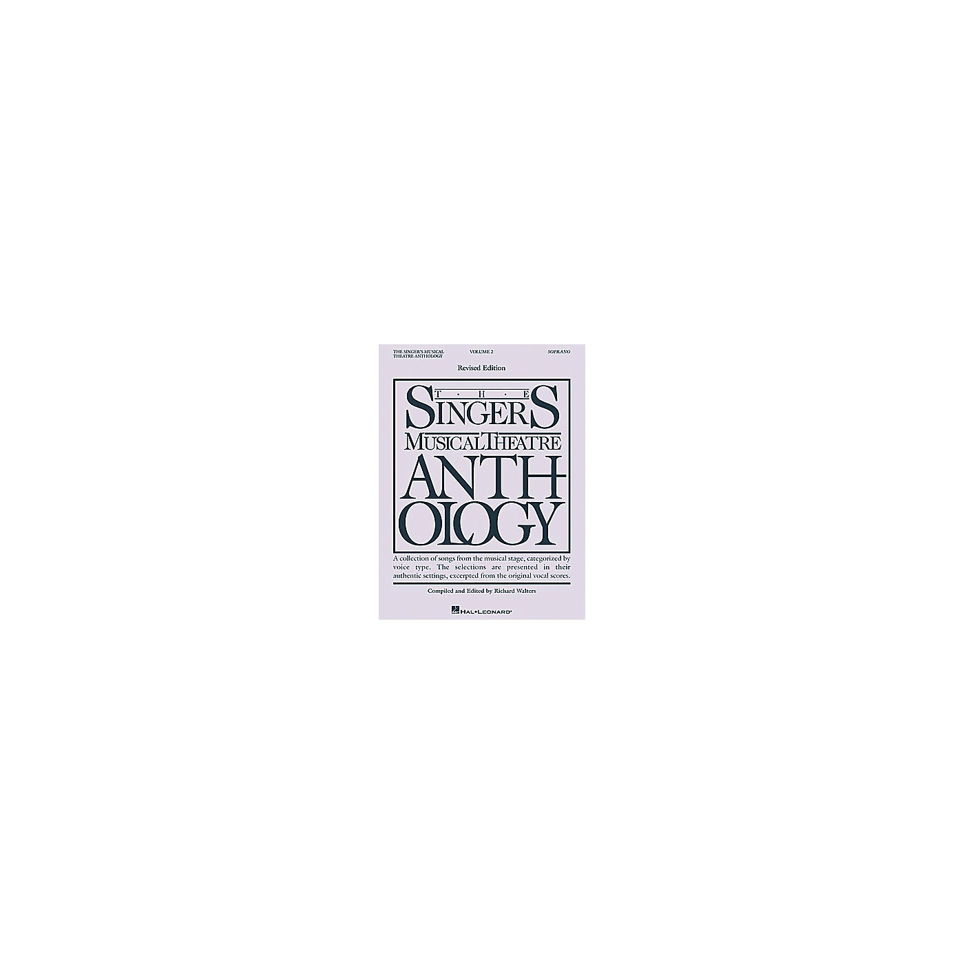 Hal Leonard The Singer's Musical Theatre Anthology - Volume 2 thumbnail