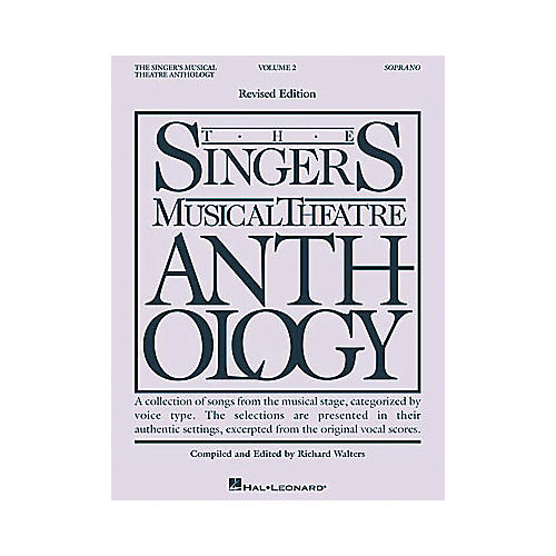 Hal Leonard The Singer's Musical Theatre Anthology - Volume 2 thumbnail