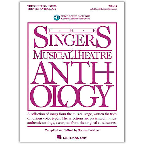 Hal Leonard The Singer's Musical Theatre Anthology: 20 Trios for Various Voice Combinations Book/Audio Online thumbnail