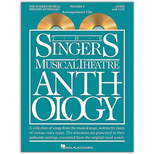 Hal Leonard The Singer's Musical Theatre Anthology: Duets, Volume 4  Set of Accompaniment CDs thumbnail