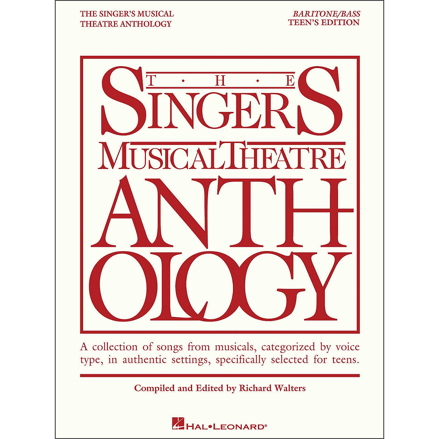 Hal Leonard The Singer's Musical Theatre Anthology Teen's Edition Baritone/Bass thumbnail