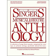 Hal Leonard The Singer's Musical Theatre Anthology Teen's Edition Baritone/Bass