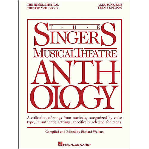 Hal Leonard The Singer's Musical Theatre Anthology Teen's Edition Baritone/Bass-thumbnail