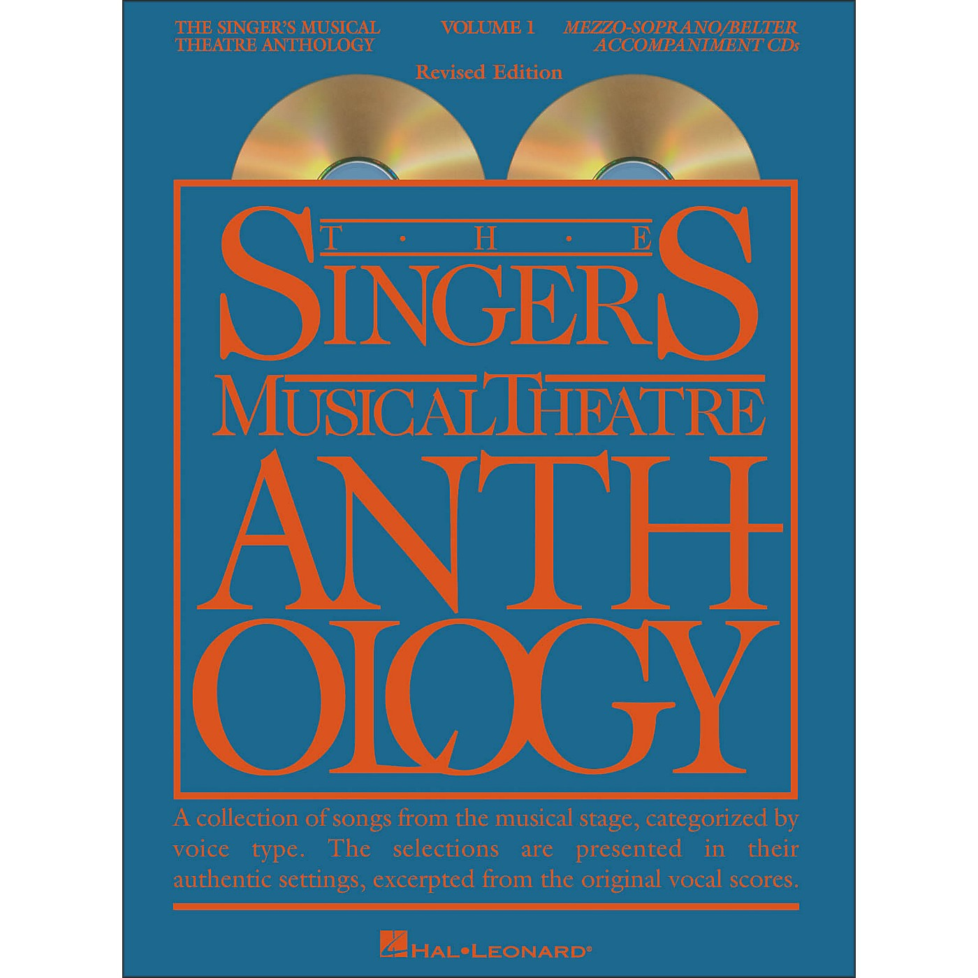 Hal Leonard The Singer's Musical Theatre Anthology for Mezzo-Soprano / Belter Volume 1 (2CDs) thumbnail