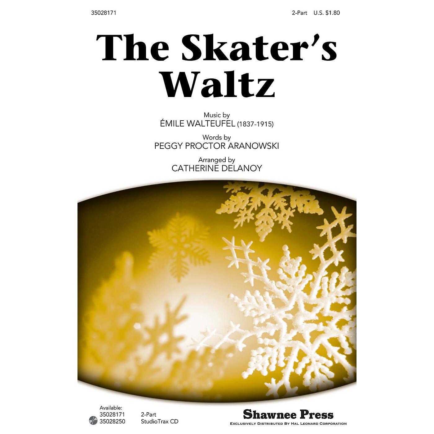Shawnee Press The Skater's Waltz Studiotrax CD Arranged by Catherine DeLanoy thumbnail