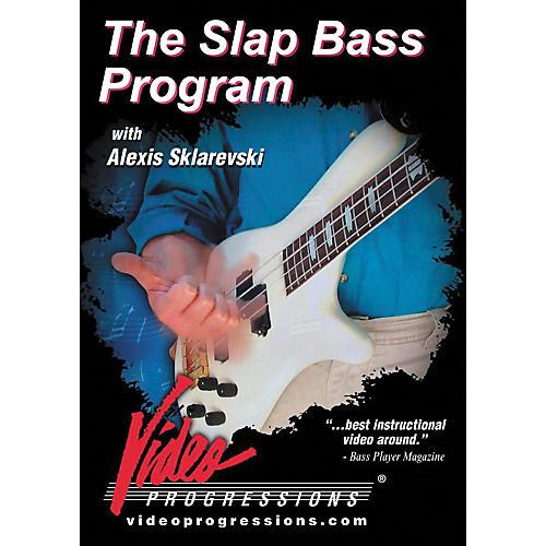 Hudson Music The Slap Bass Program DVD-thumbnail