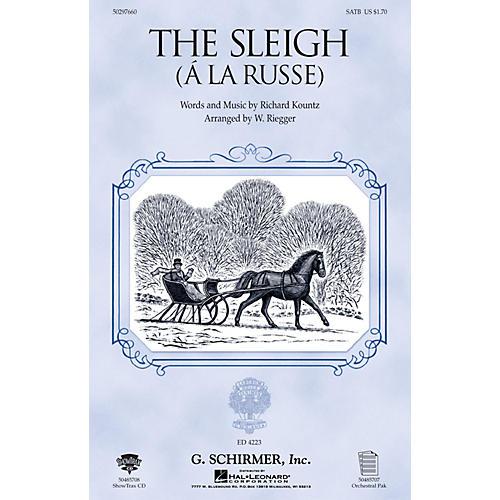 G. Schirmer The Sleigh (À La Russe) SA Composed by Richard Kountz thumbnail
