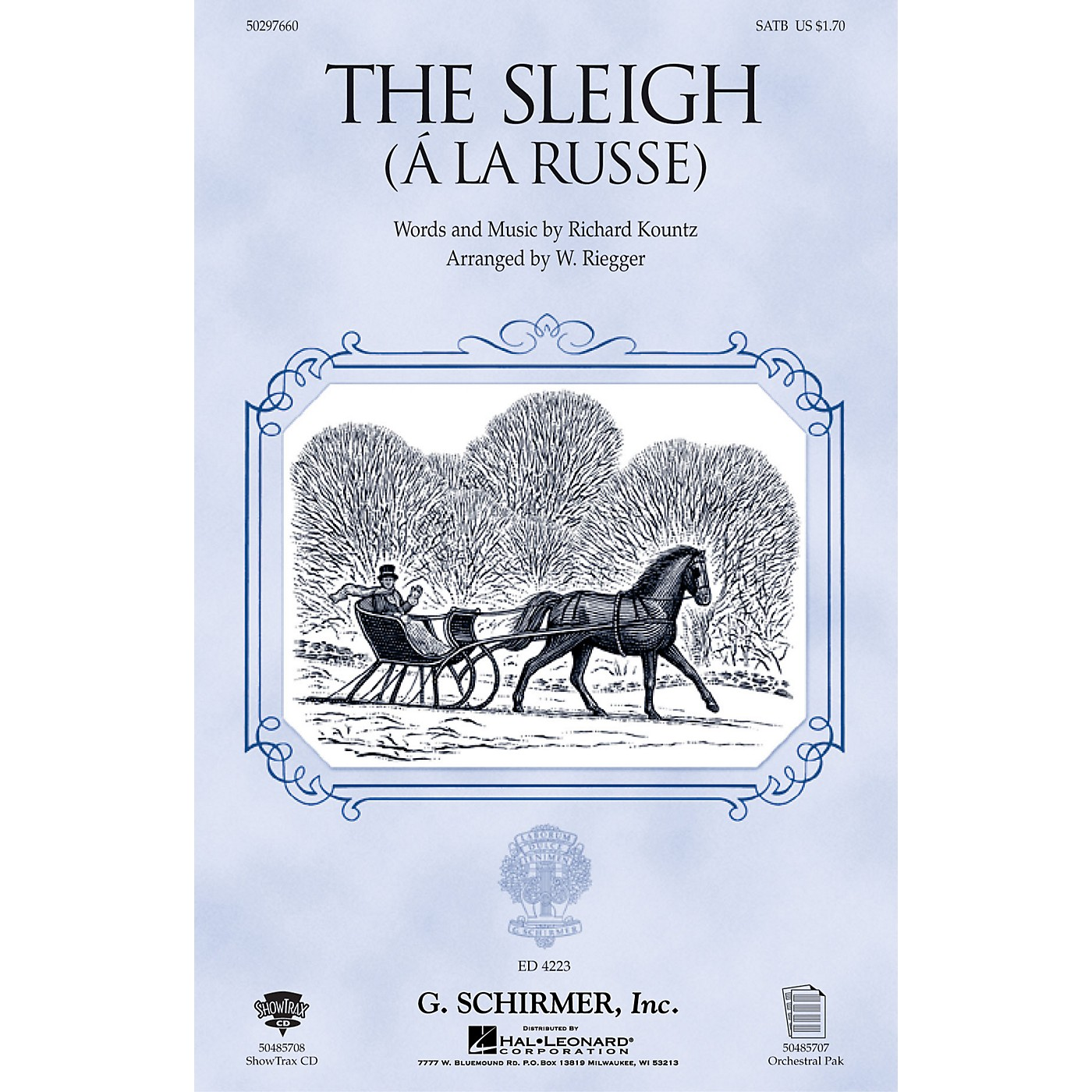 G. Schirmer The Sleigh (À La Russe) SAB Composed by Richard Kountz thumbnail