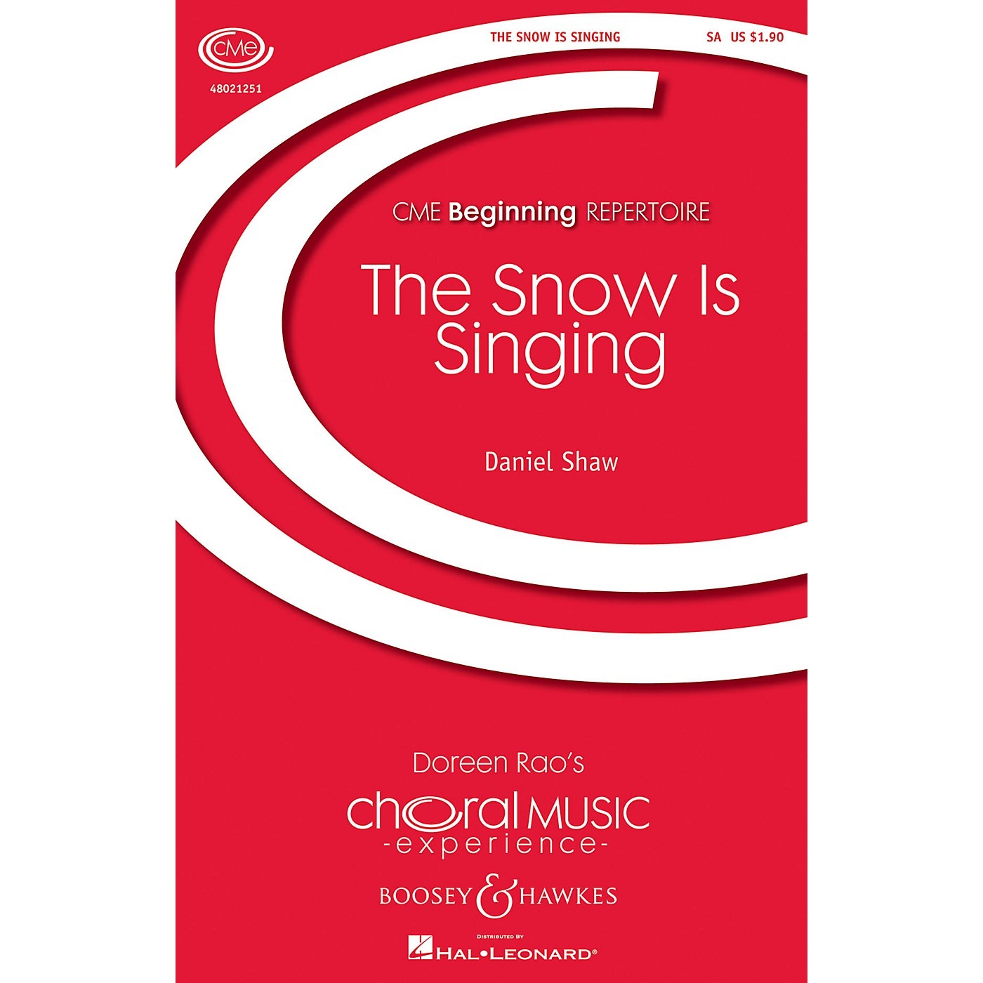 Boosey and Hawkes The Snow Is Singing (CME Beginning) SA composed by Daniel Shaw thumbnail