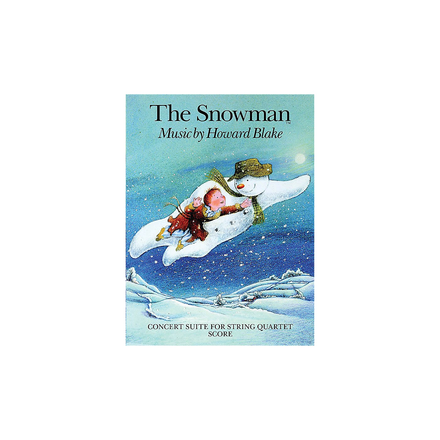 Chester Music The Snowman (Concert Suite for String Quartet) Music Sales America Series Softcover by Howard Blake thumbnail