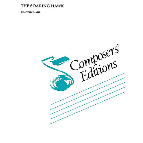 Hal Leonard The Soaring Hawk Concert Band Level 4-6 Composed by Timothy Mahr thumbnail