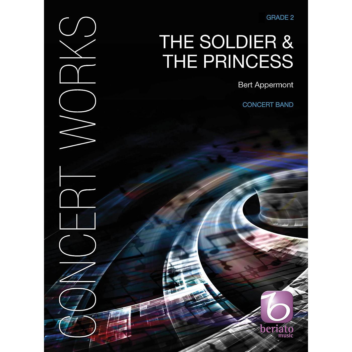 De Haske Music The Soldier & The Princess Concert Band Level 2.5 Composed by Bert Appermont thumbnail