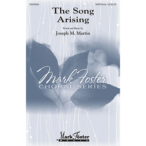 Mark Foster The Song Arising Studiotrax CD Composed by Joseph M. Martin thumbnail