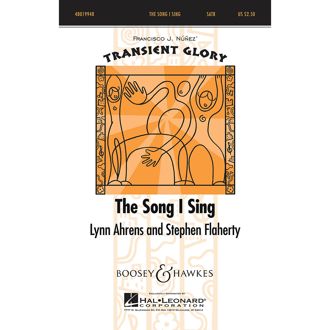 Boosey and Hawkes The Song I Sing (Transient Glory Series) SATB composed by Lynn Ahrens thumbnail