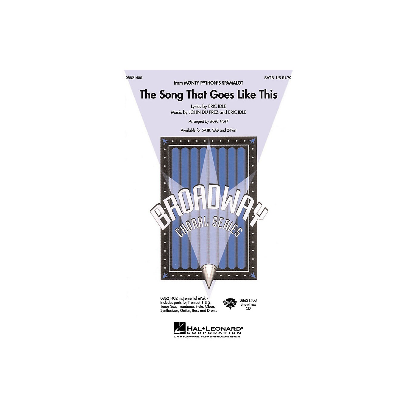 Hal Leonard The Song That Goes like This SAB Arranged by Mac Huff thumbnail