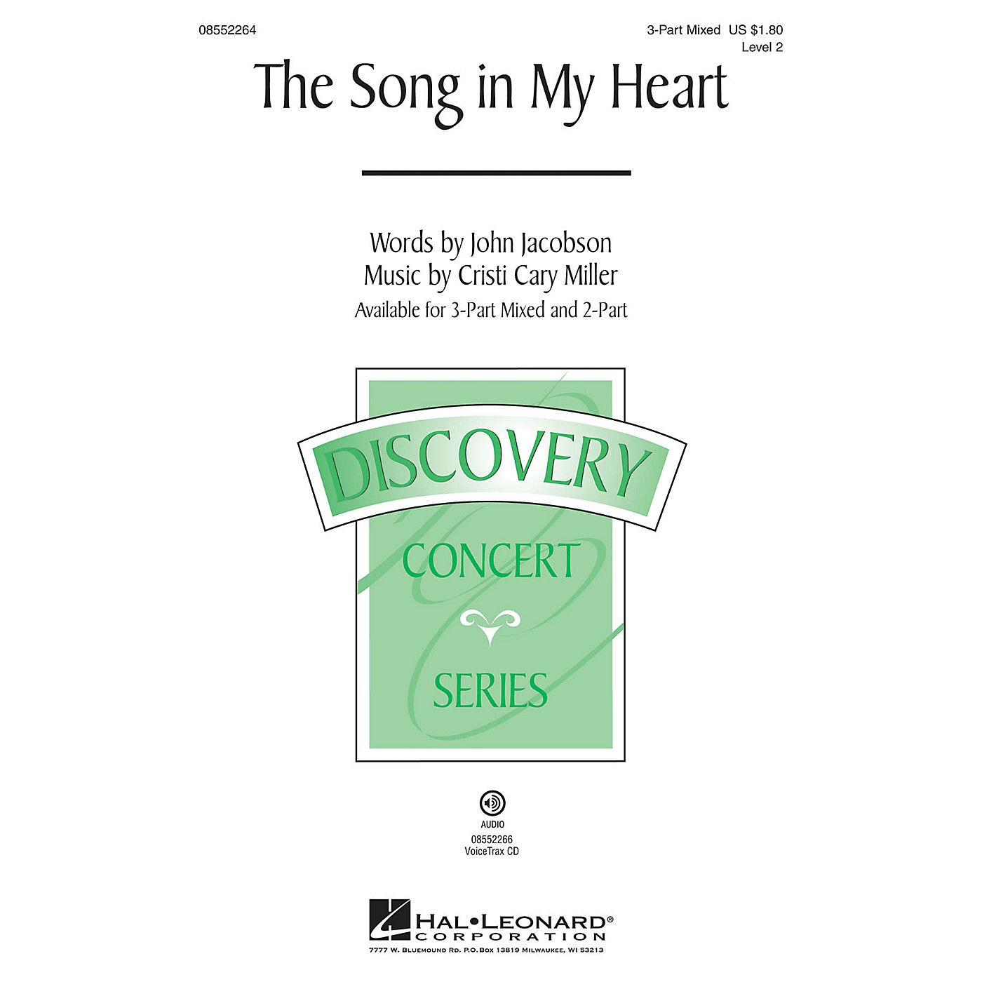 Hal Leonard The Song in My Heart (Discovery Level 2) VoiceTrax CD Composed by Cristi Cary Miller thumbnail