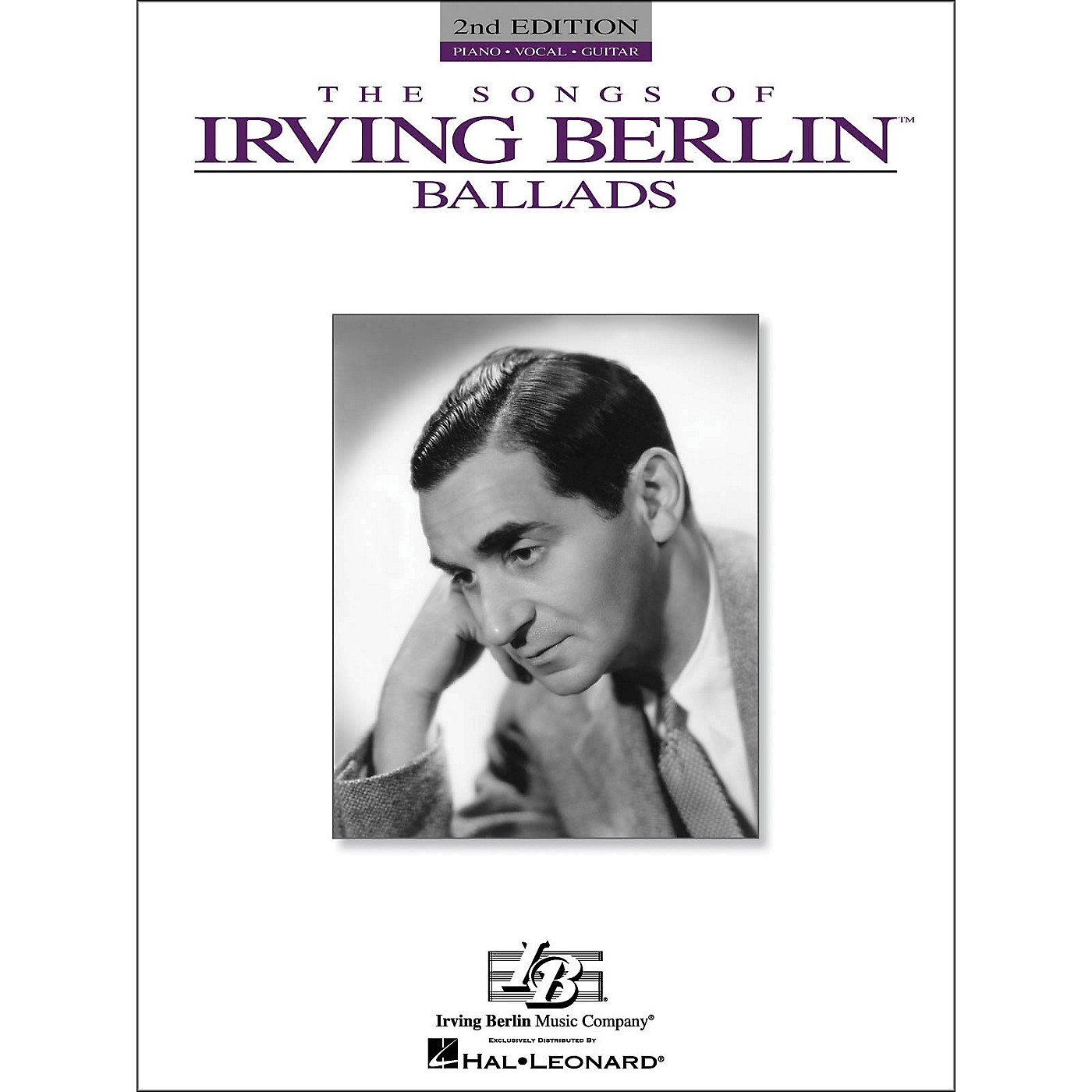 Hal Leonard The Songs Of Irving Berlin Ballads arranged for piano, vocal, and guitar (P/V/G) thumbnail