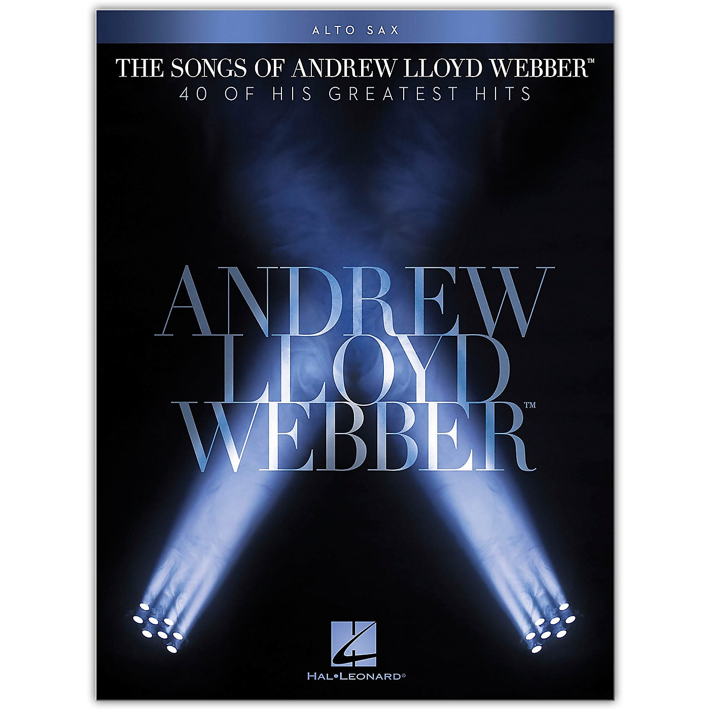Hal Leonard The Songs of Andrew Lloyd Webber for Alto Sax Instrumental Songbook thumbnail