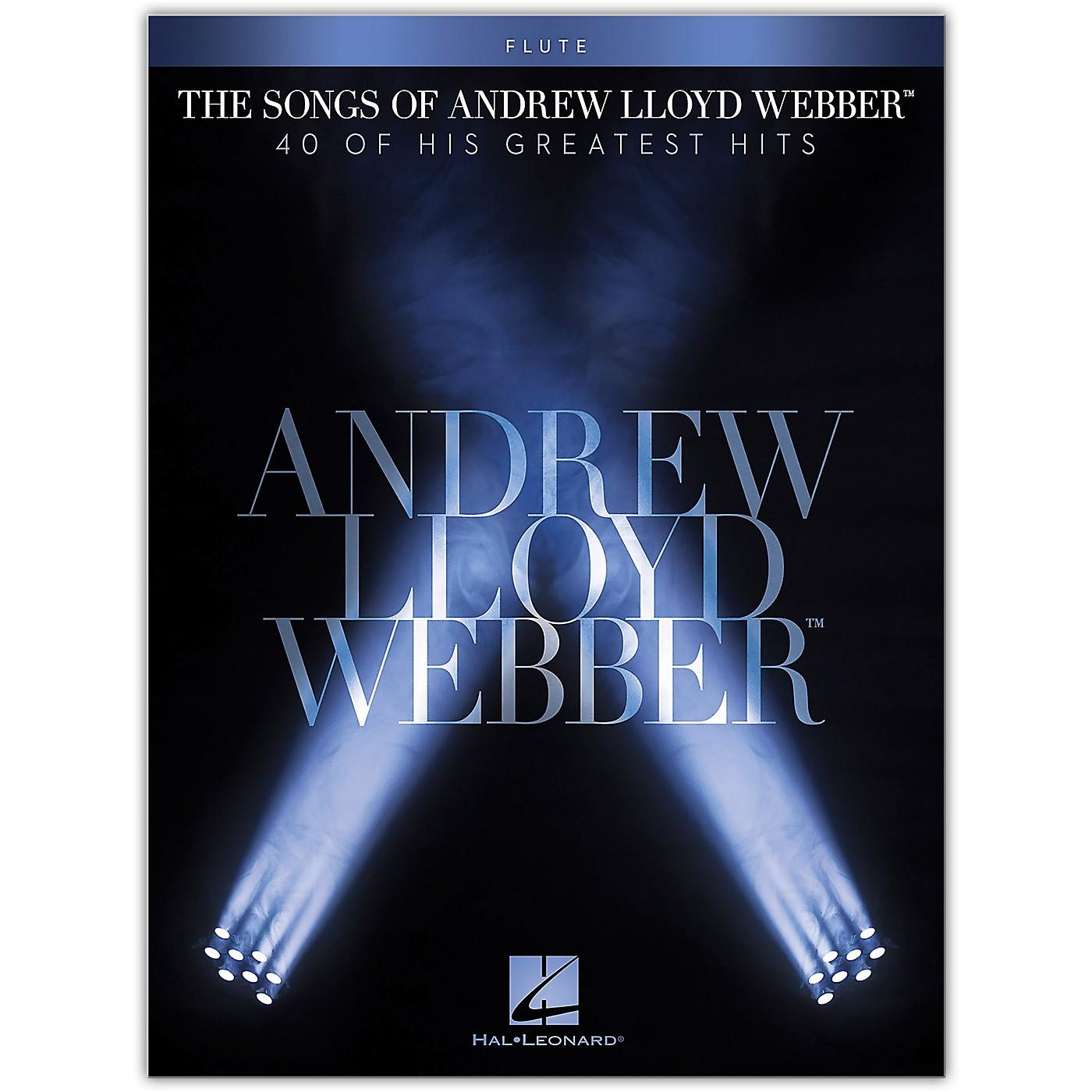 Hal Leonard The Songs of Andrew Lloyd Webber for Flute Instrumental Songbook thumbnail