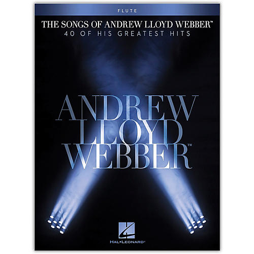 Hal Leonard The Songs of Andrew Lloyd Webber for Flute Instrumental Songbook thumbnail