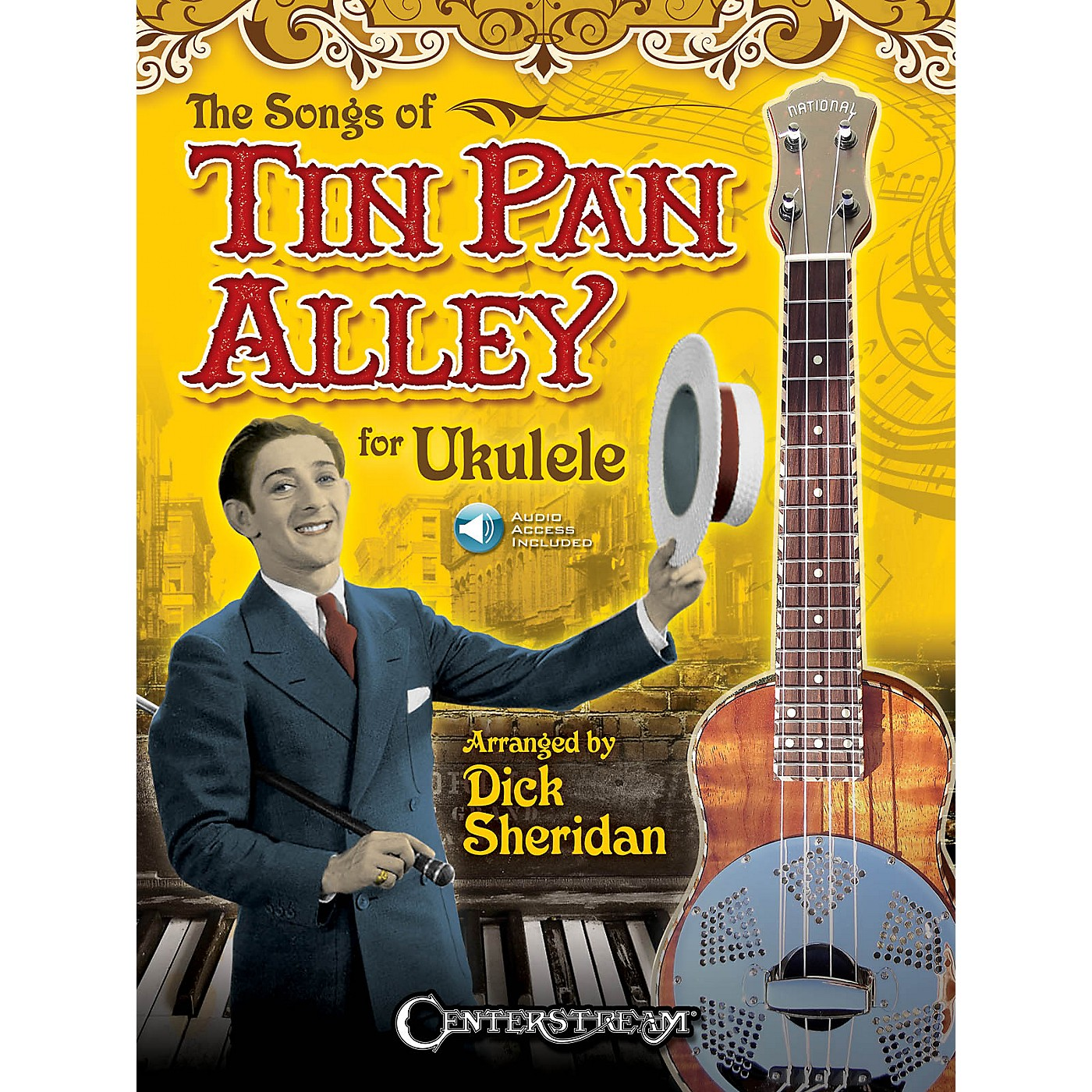Centerstream Publishing The Songs of Tin Pan Alley for Ukulele Fretted Series Softcover Audio Online thumbnail
