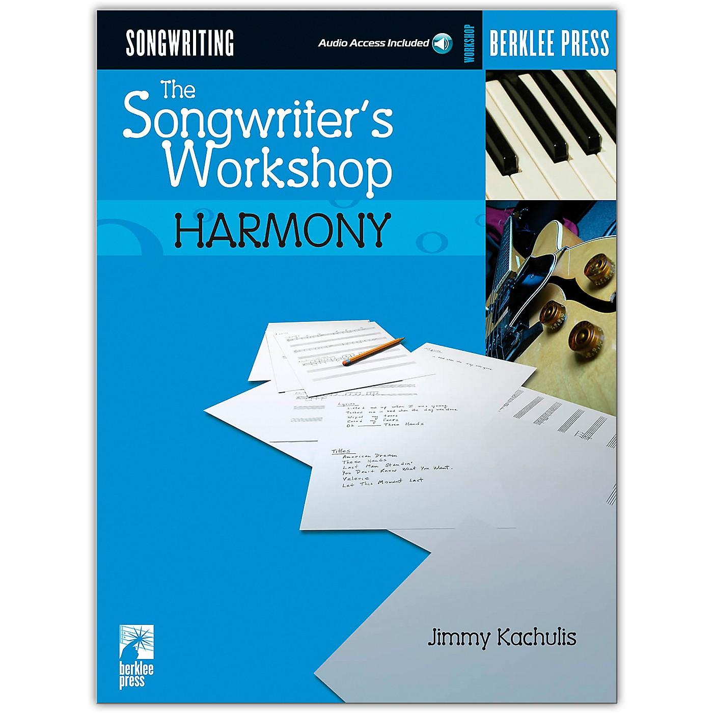 Hal Leonard The Songwriters Workshop Harmony Book/Online Audio thumbnail