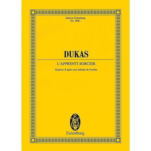 Eulenburg The Sorcerer's Apprentice [L'Apprenti Sorcier] (Study Score) Study Score Series Softcover by Paul Dukas thumbnail