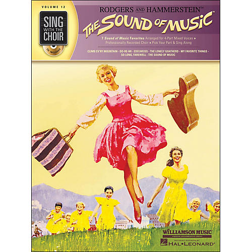 Hal Leonard The Sound Of Music - Sing with The Choir Series Vol. 12 Book/CD thumbnail
