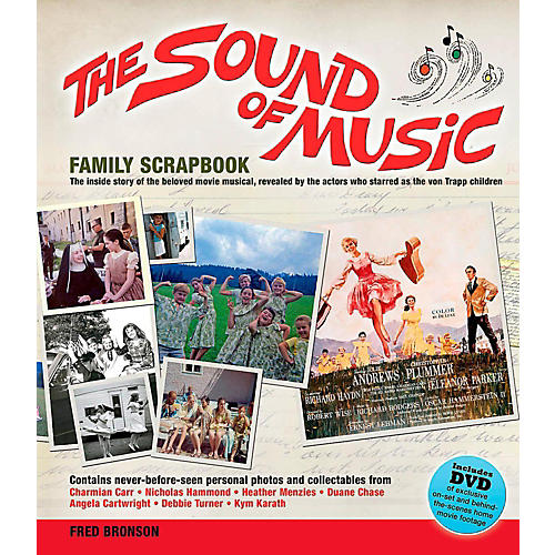 Hal Leonard The Sound Of Music Family Scrapbook - The Inside Story Of The Beloved Movie Musical thumbnail