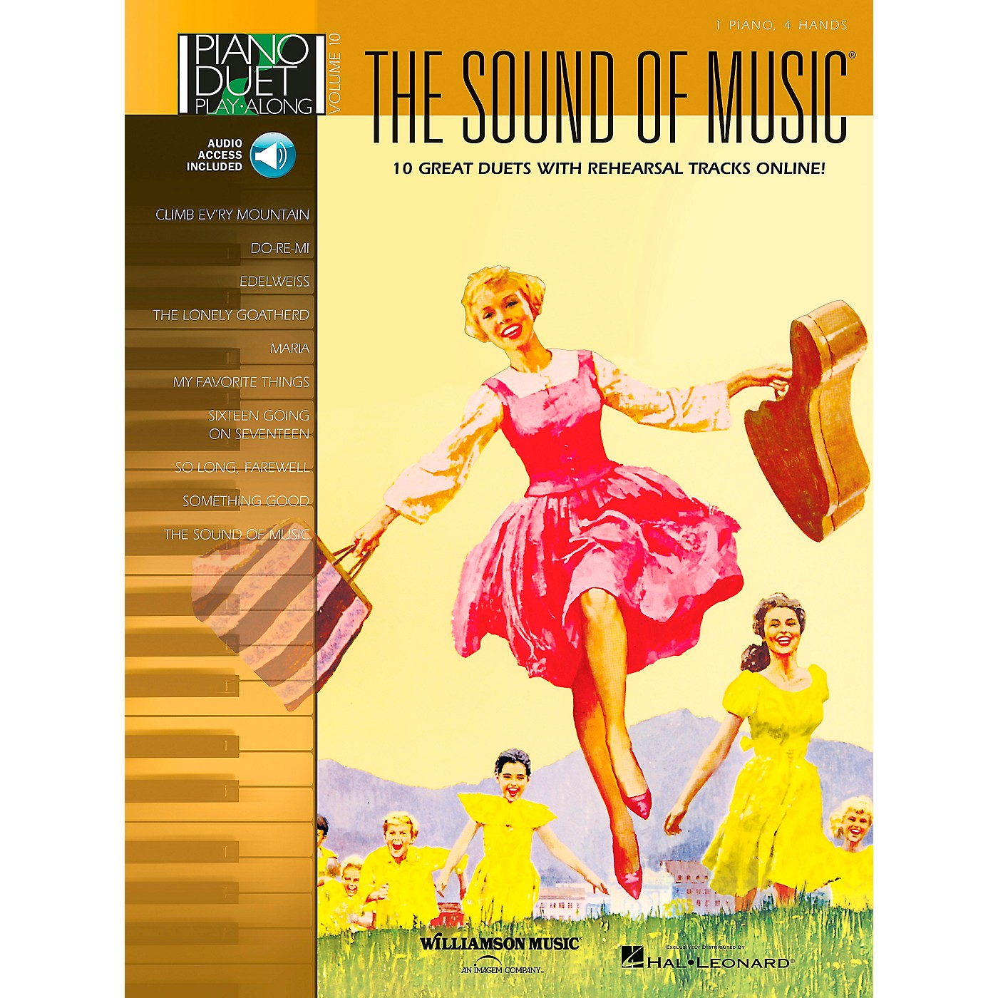 Hal Leonard The Sound Of Music Piano Duet Play-Along Volume 10 Book/CD thumbnail