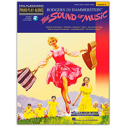 Hal Leonard The Sound Of Music Piano Play-Along Volume 25  (Book/Audio Online) thumbnail