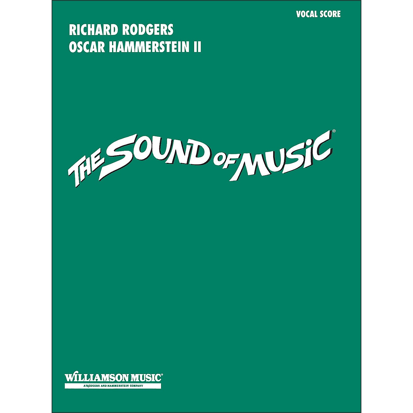 Hal Leonard The Sound Of Music Vocal Score thumbnail