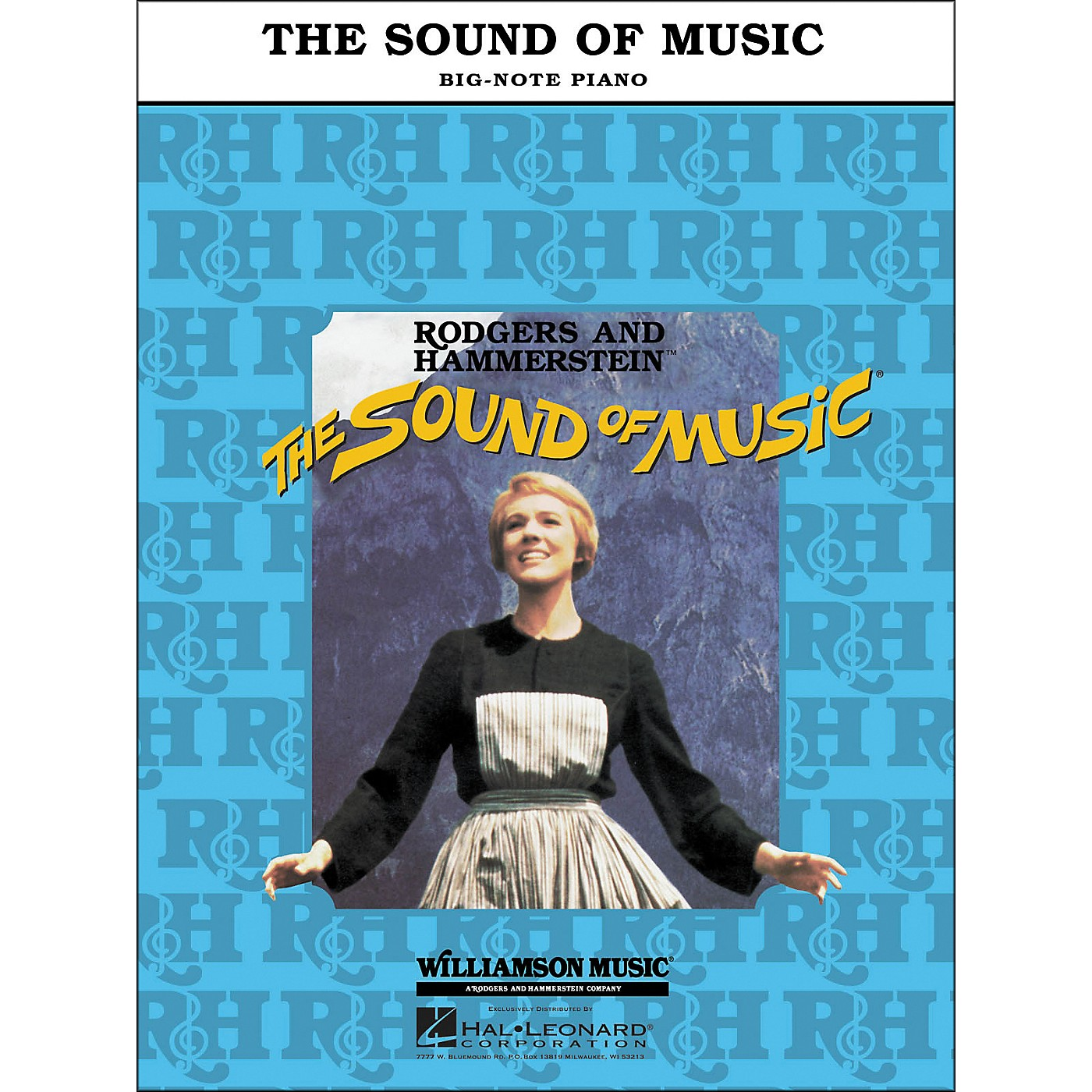 Hal Leonard The Sound Of Music for Big Note Piano thumbnail