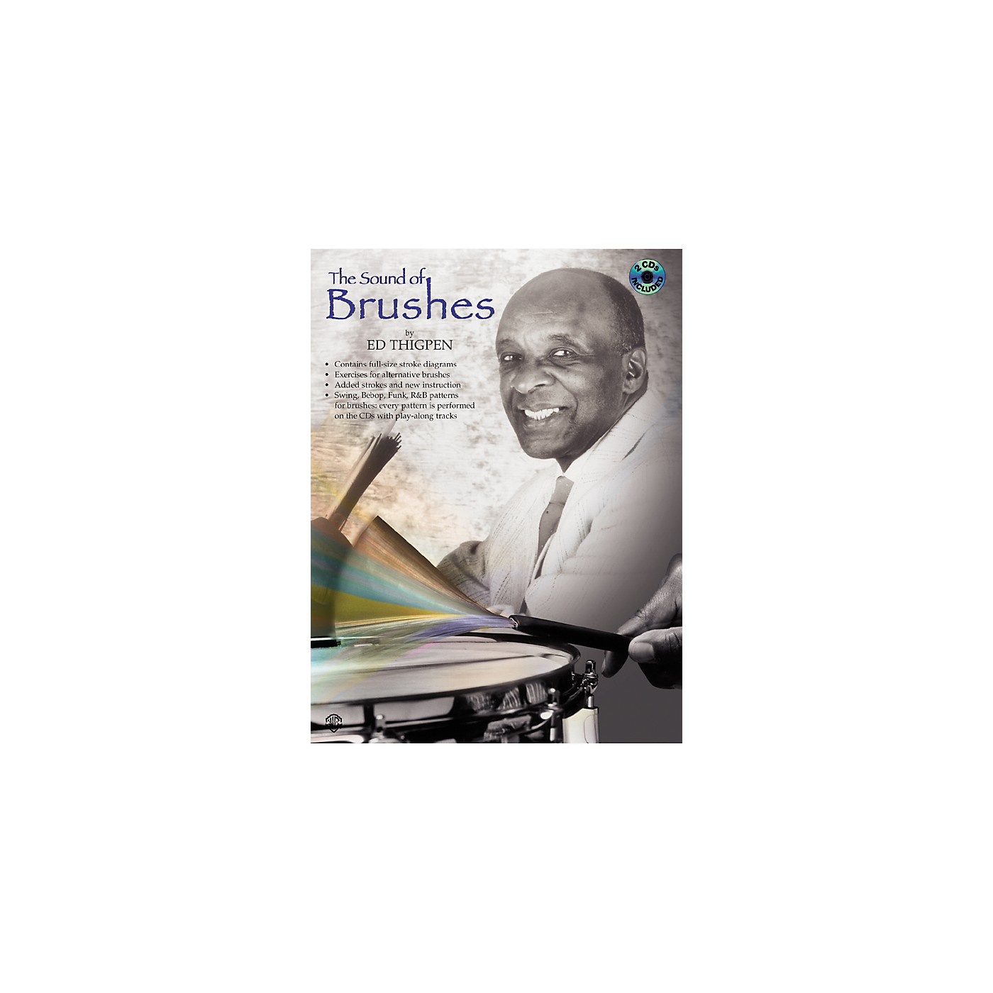 Alfred The Sound of Brushes (Book/CD) thumbnail