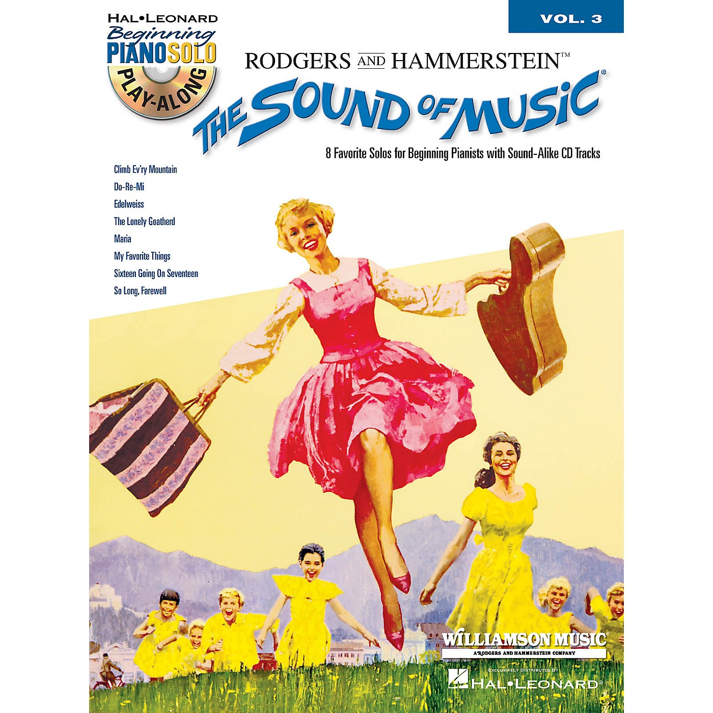 Hal Leonard The Sound of Music Beginning Piano Solo Play-Along Vol. 3 Book/CD thumbnail
