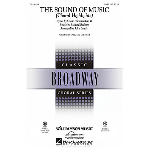 Williamson Music The Sound of Music (Choral Highlights) SATB by Julie Andrews arranged by John Leavitt thumbnail