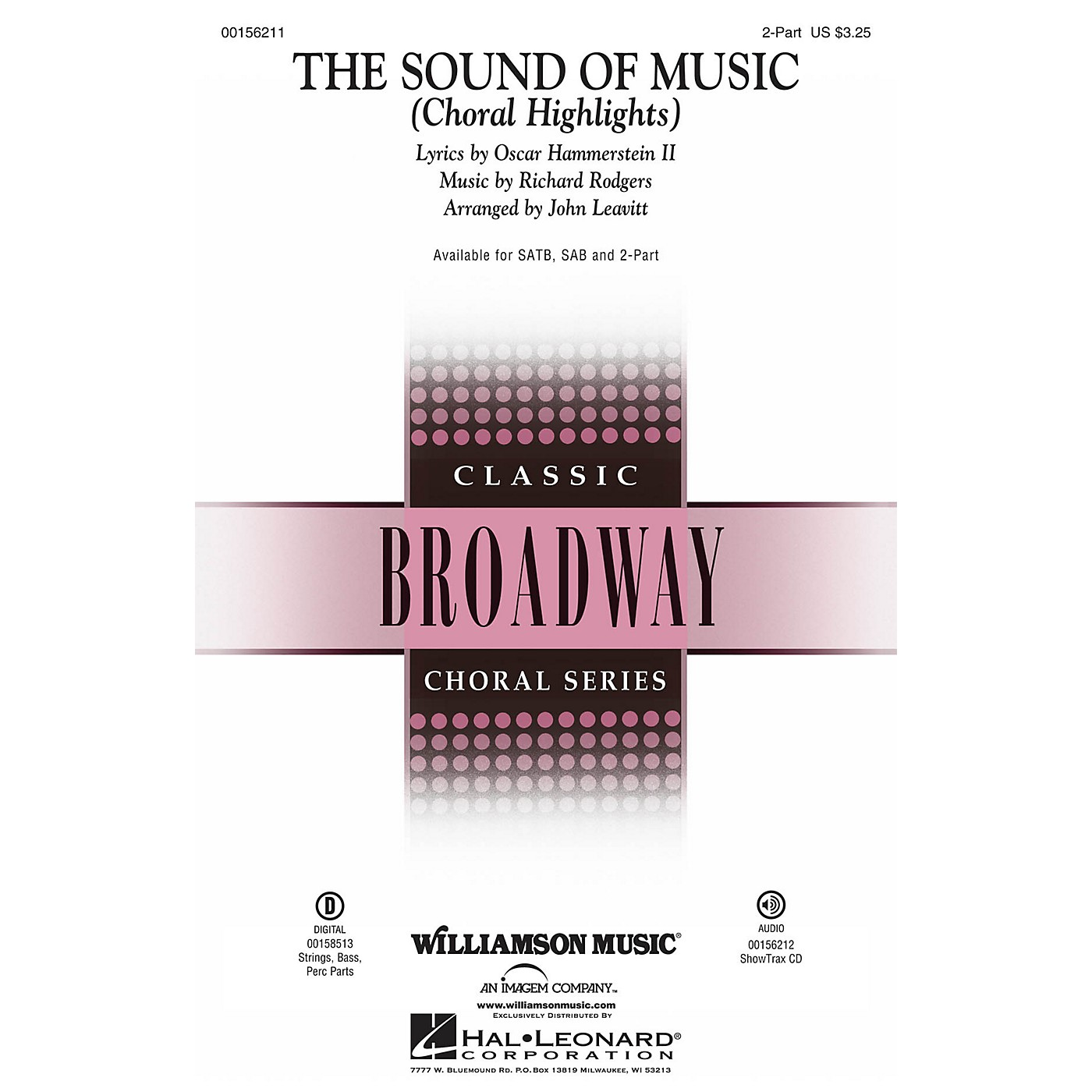 Williamson Music The Sound of Music (Choral Highlights) SSA by Julie Andrews arranged by John Leavitt thumbnail