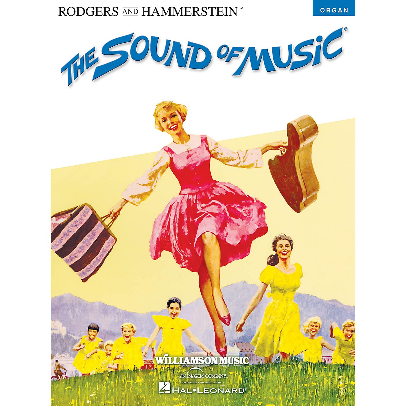 Hal Leonard The Sound of Music Organ Adventure Series Softcover thumbnail