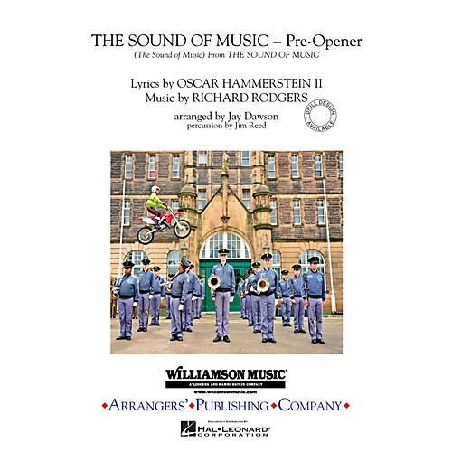 Arrangers The Sound of Music (Pre-opener) (Includes: The Sound of Music) Marching Band Level 3 by Jay Dawson thumbnail