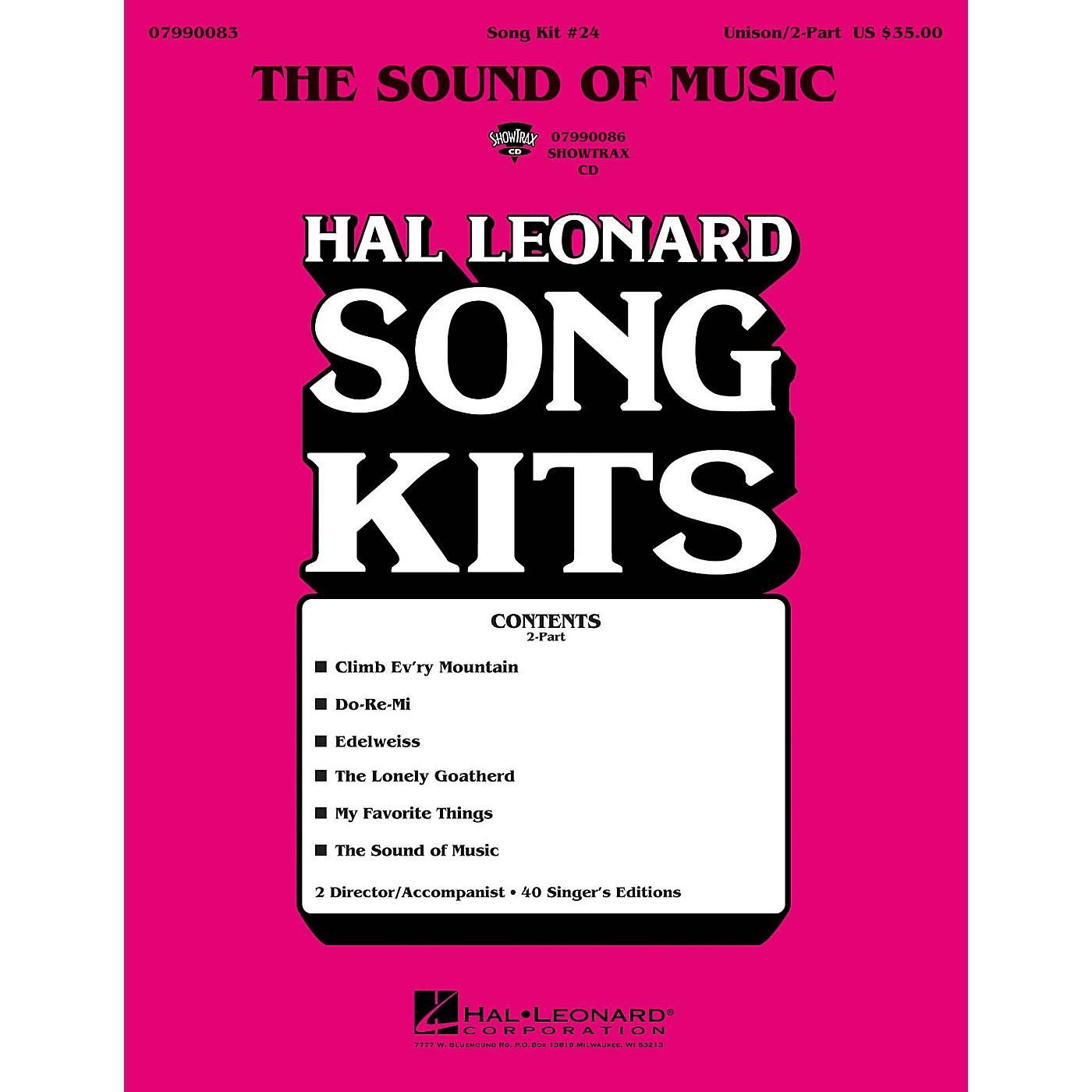 Hal Leonard The Sound of Music (Song Kit #24) UNIS/2PT Arranged by Dick Averre thumbnail