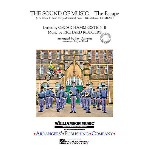 Arrangers The Sound of Music (The Escape) Marching Band Level 3 Arranged by Jay Dawson thumbnail