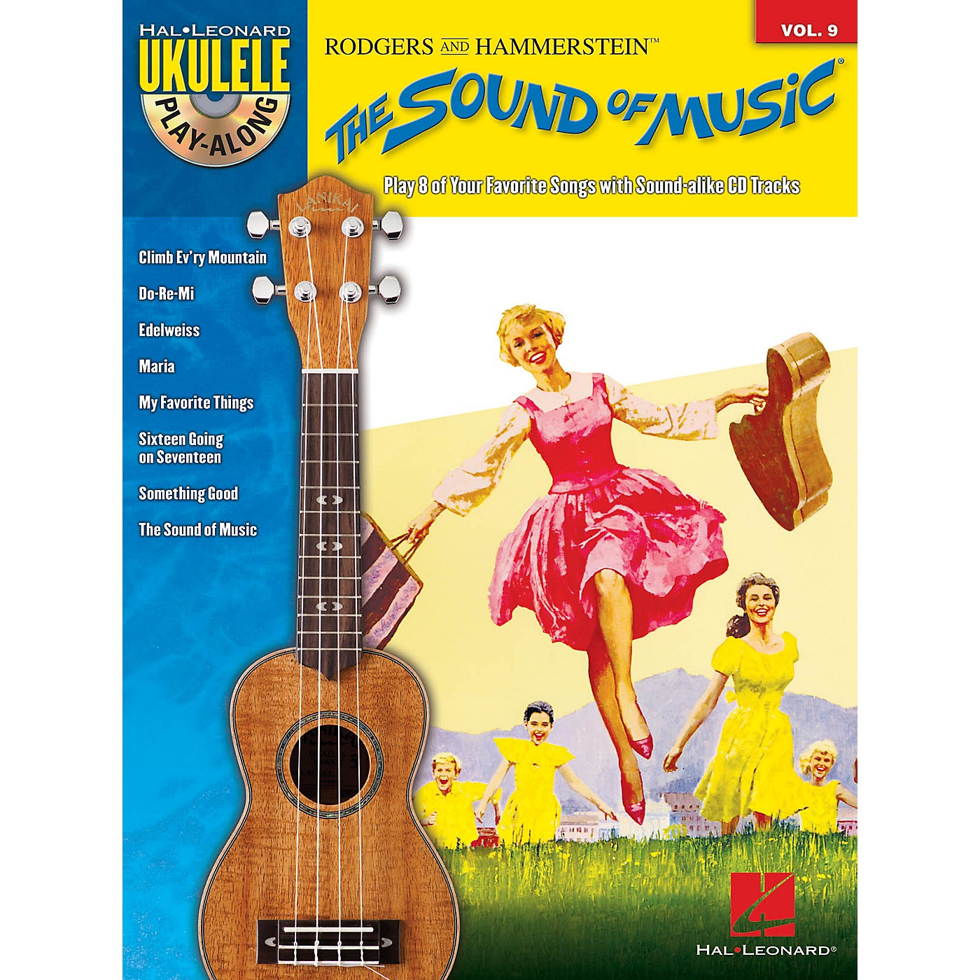 Hal Leonard The Sound of Music (Ukulele Play-Along Volume 9) Ukulele Play-Along Series Softcover with CD thumbnail