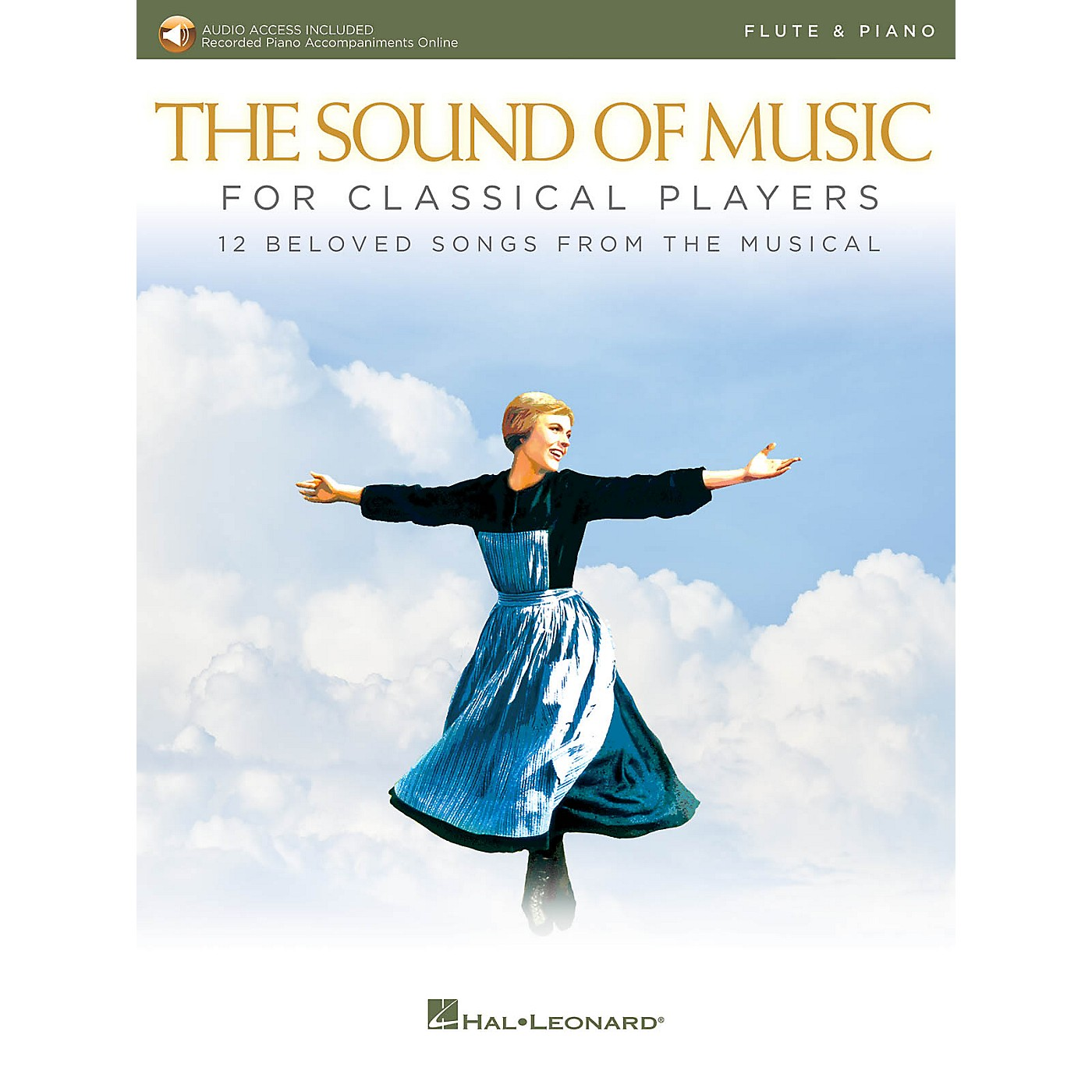 Hal Leonard The Sound of Music for Classical Players - Flute and Piano Book/Audio Online thumbnail